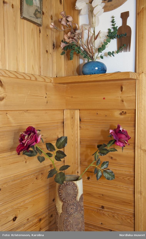 Rosa Taikon, Huset, trädgården och omgivningen kring Flor i Hälsningland