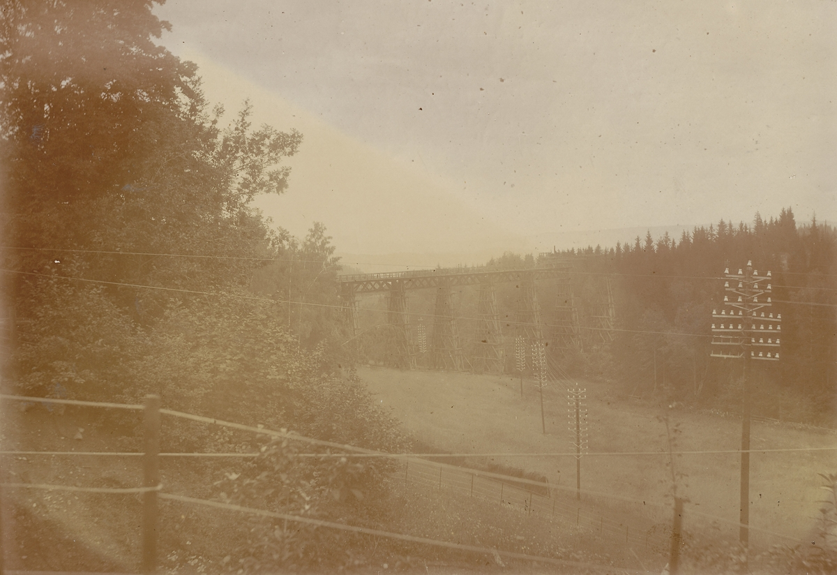 Jernbanebrua, Hvalstaddalen