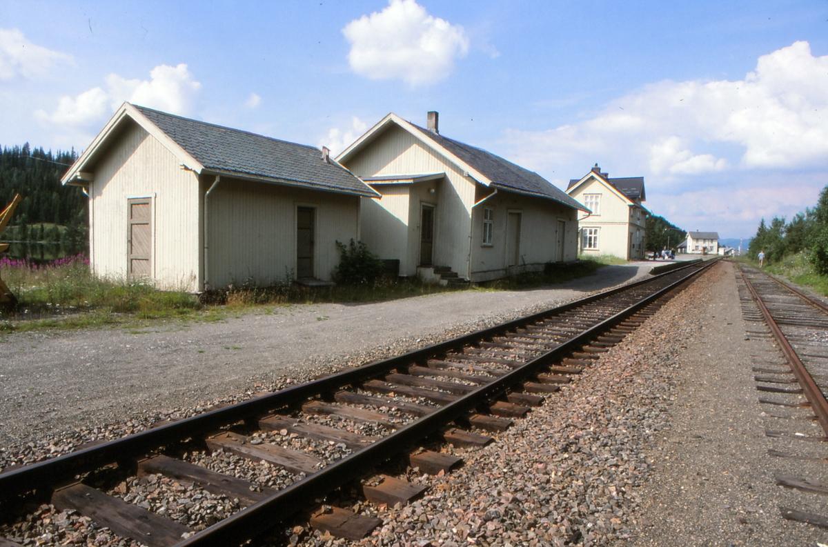 Tonsåsen jernbanestasjon.