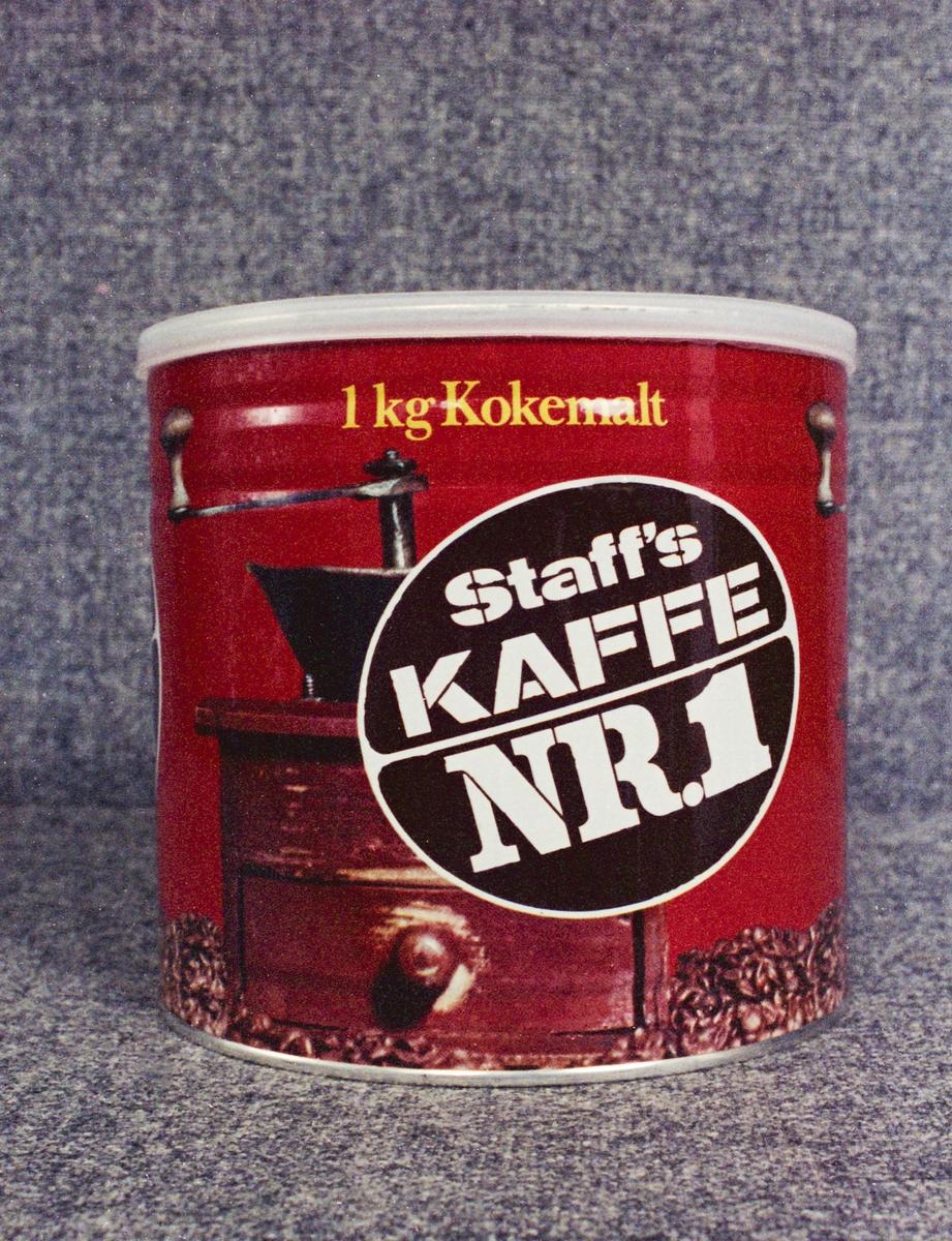 Reklamebilder for kaffegrossist Einar Staff