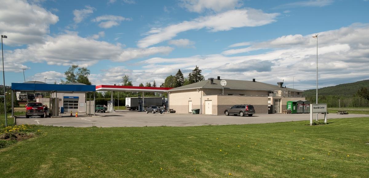 Esso bensinstasjon Hadelandsveien Nittedal
