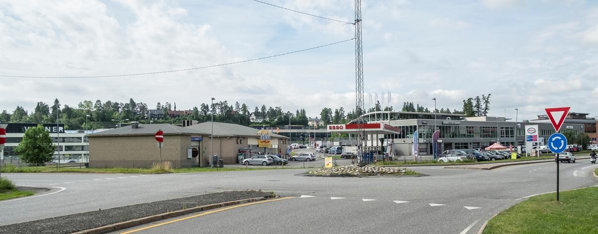 Esso bensinstasjon Billingstadsletta Billingstad Asker
