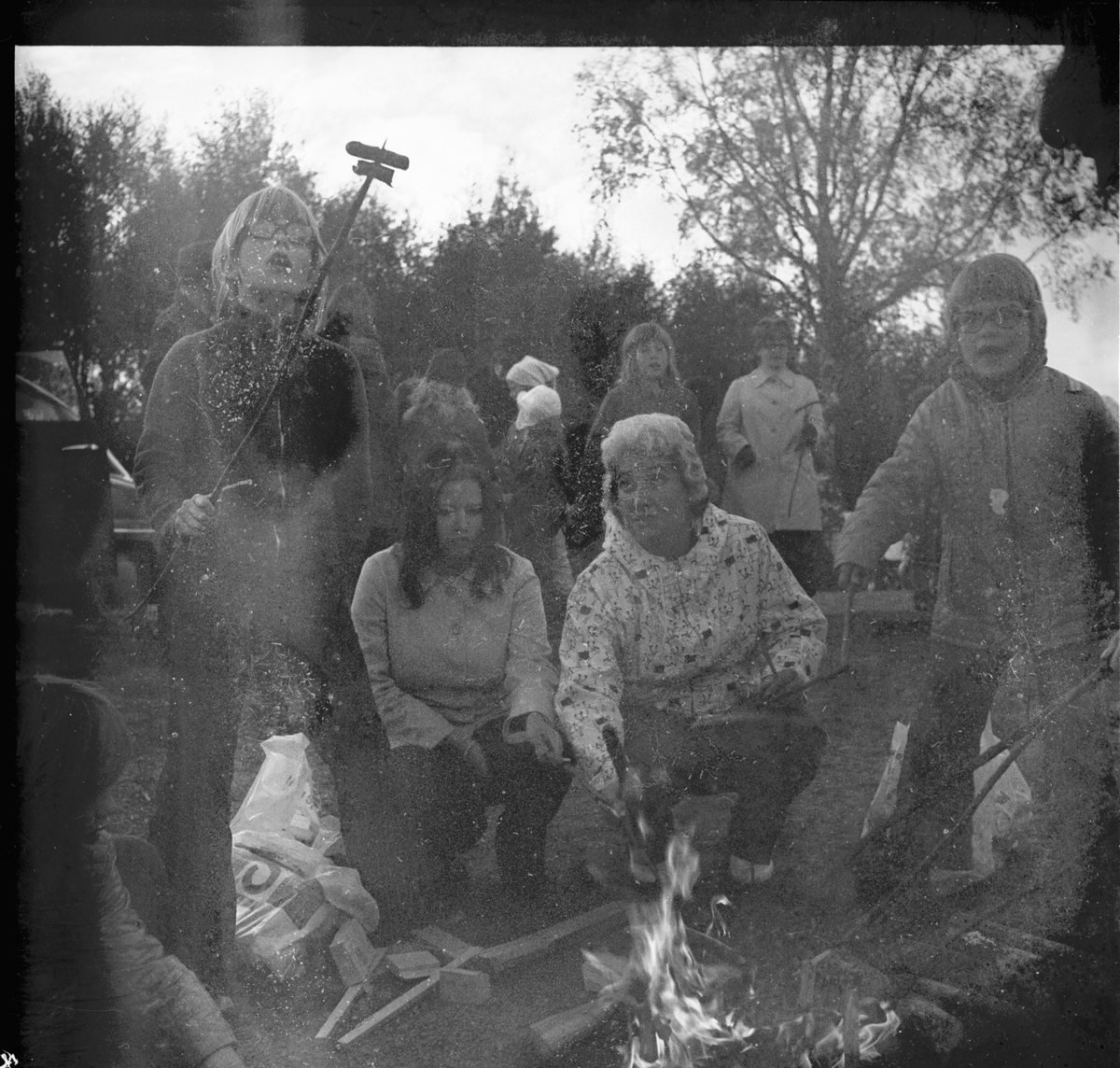 Skogsmulleavslutning Oktober 1972