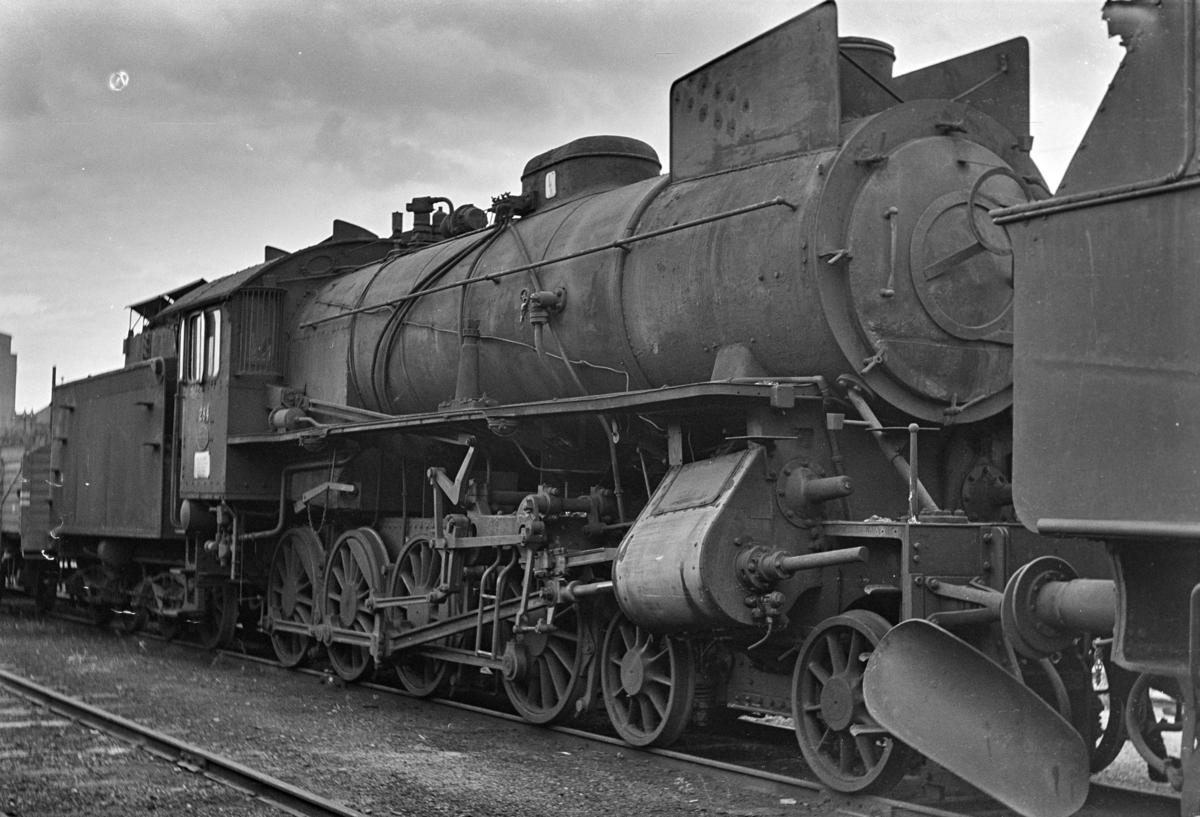 Damplokomotiv type 31a nr. 284, hensatt i Lodalen i Oslo.