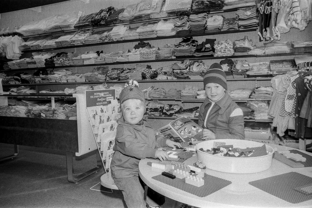 Barntex i Ski i nye lokaler Fotograf: ØB Ukjent