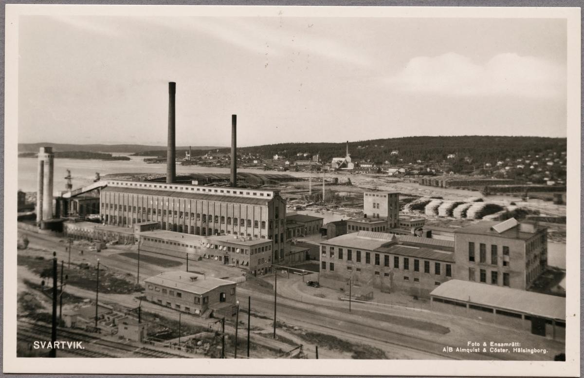 Industriområde söder om Sundsvall.