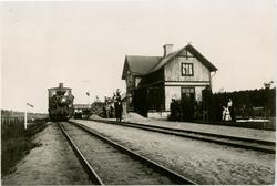 NHJ , Norra Hälsinglands Järnvägs lok Öppnad 13/12 1896. Bis