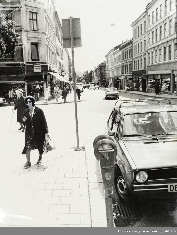 Grünerløkka. Thorvald Meyers gate. Juni 1977