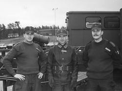 Utbildningsbefäl vid luftvärnspluton