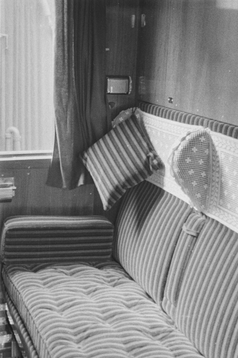 Fra en kupe i en tysk personvogn i toget fra Hamburg til Stockholm via Sassnitz
