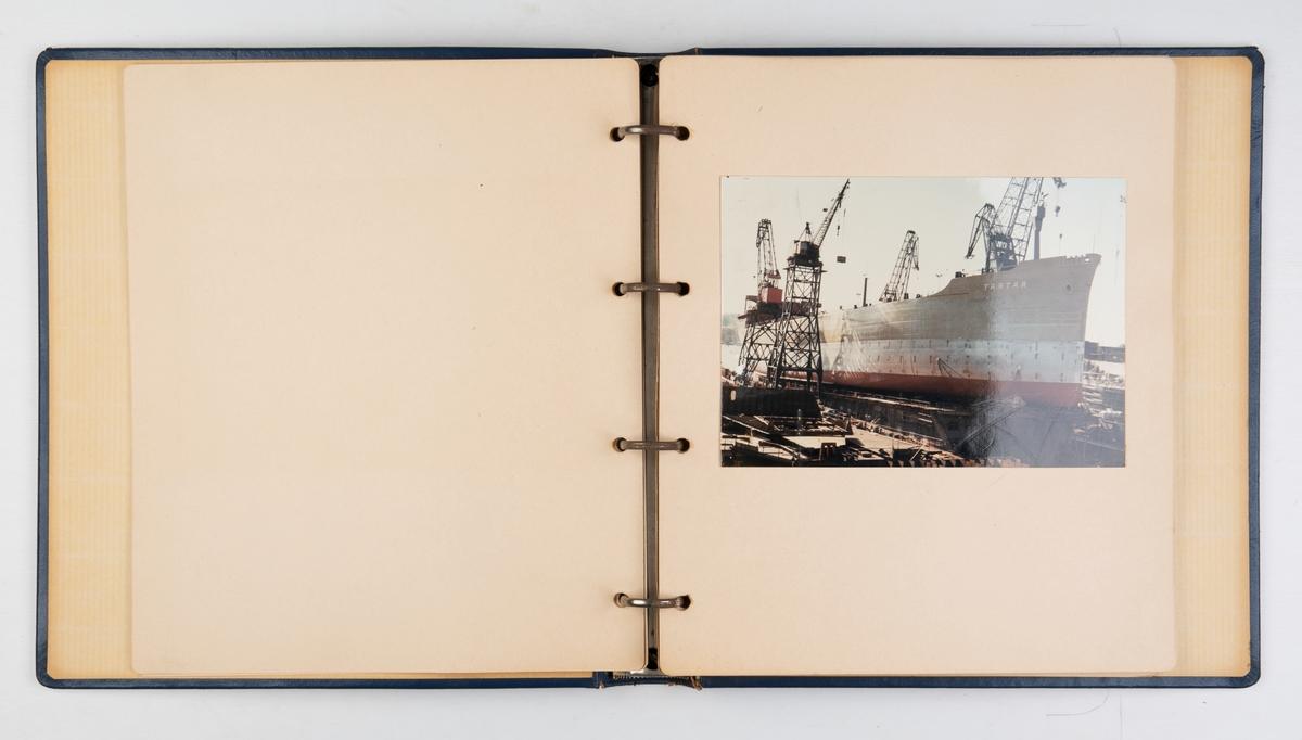 Album med bilder fra sjøsetingen av M/T 'Tartar', 29. september 1964 - Eriksbergs Mek. Verksted AB.