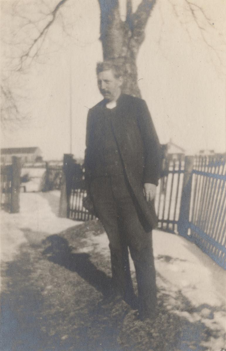 Porträtt av en okänd man.