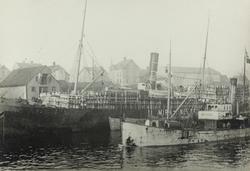 Smedasundet sett mot vest, ca. 1920.