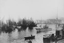 "Smedasundet, ""Krossen"", sett mot nordøst, ca. 1912."