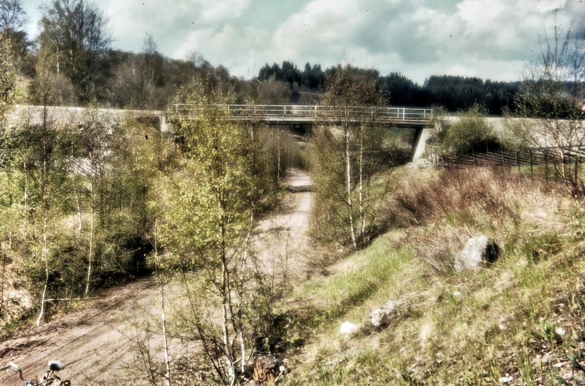 Parti av nedlagte Røykenvikbanen nær Brandbu