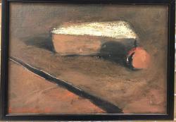 Svart ( stilleben ) [Målning]