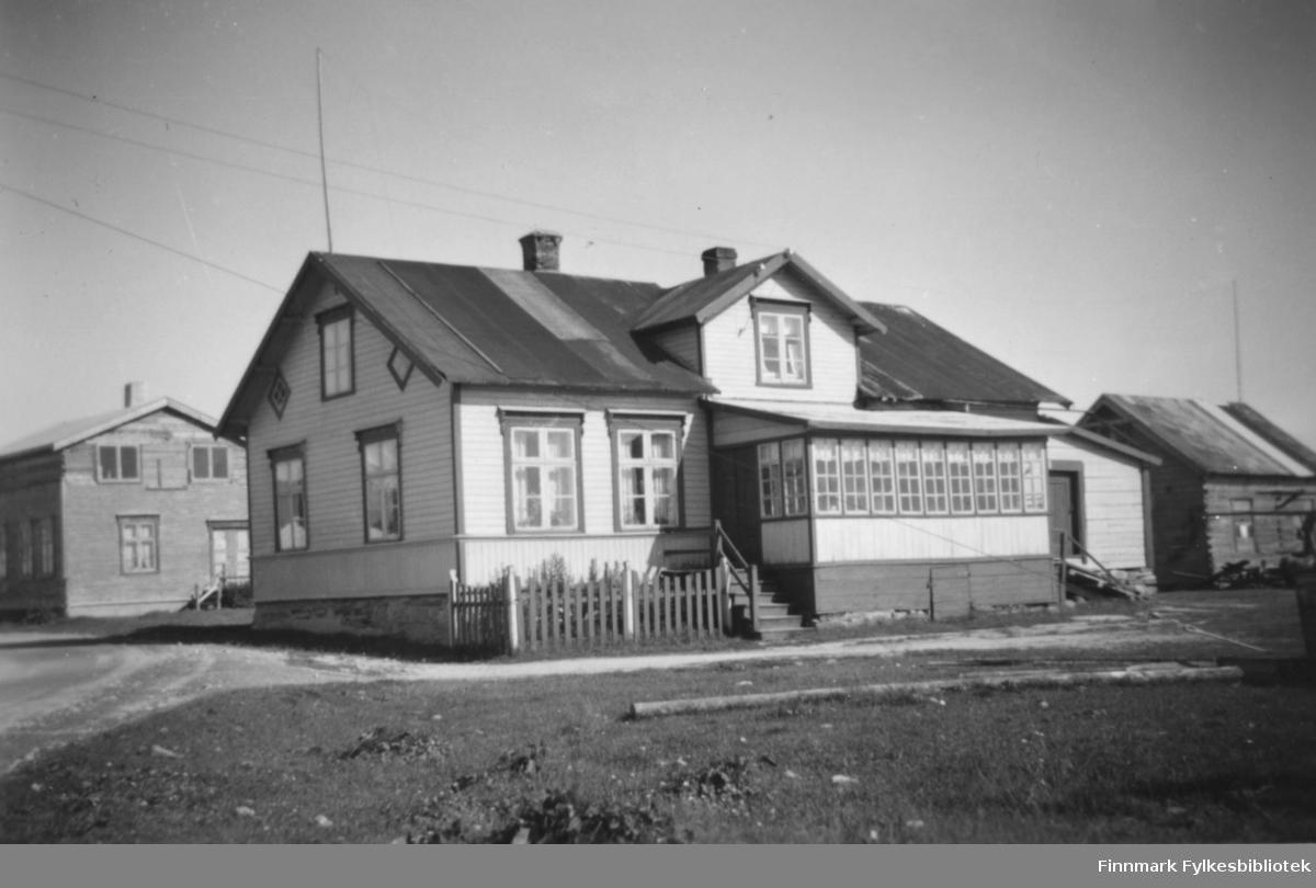 Havnefogd Nilsen sitt hus i Salttjern.