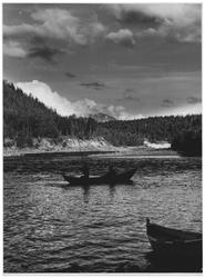 Laksefiske i Malangsfossen