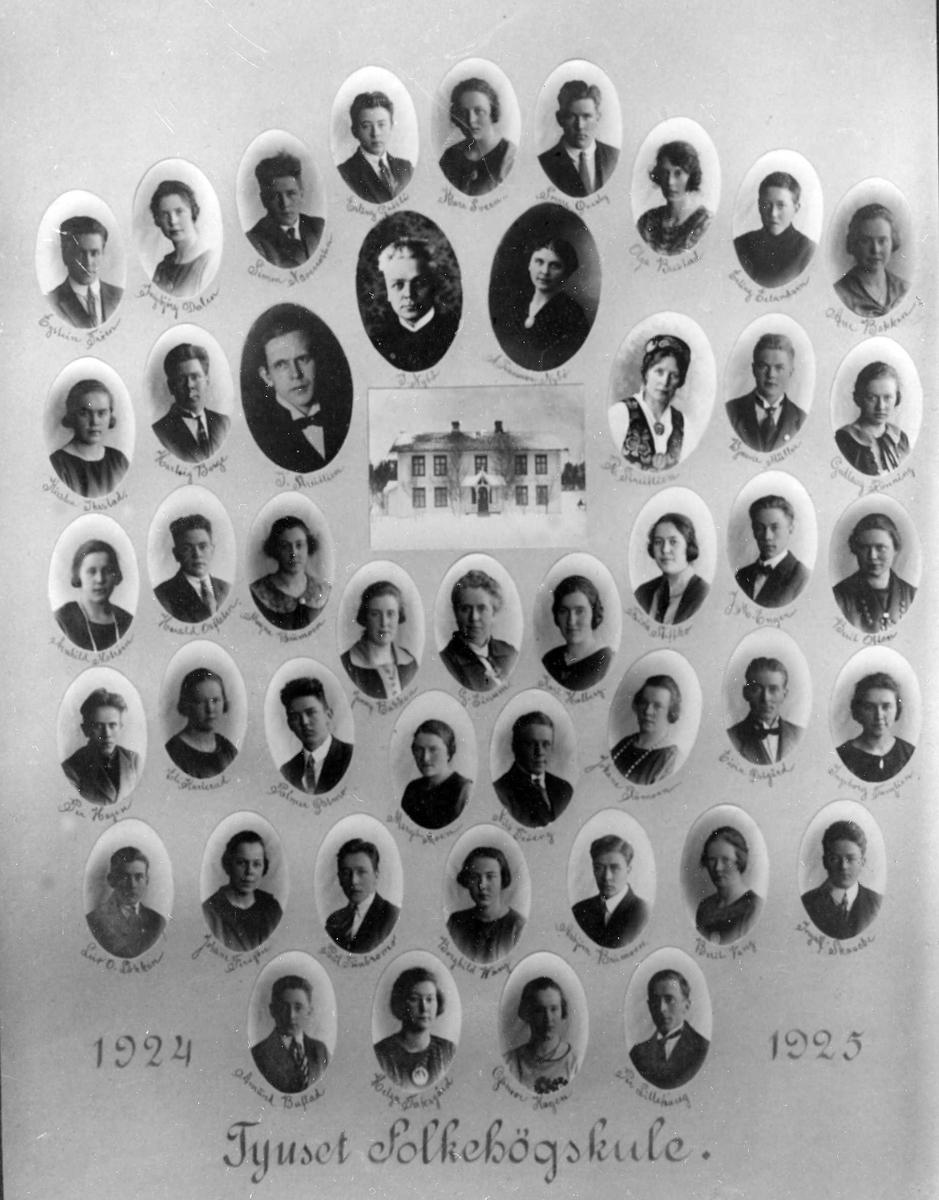 Tynset folkehøgskole 1924-25