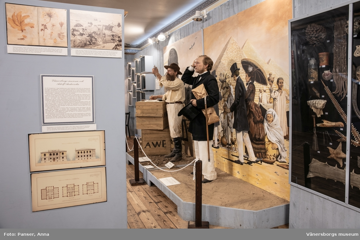 Vänersborgs museum. Mezzaninsalen