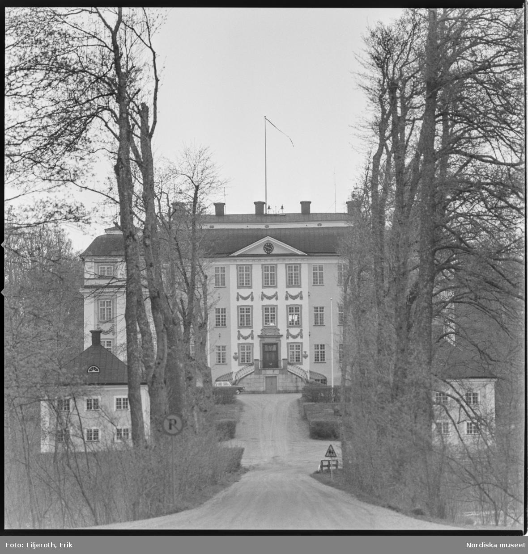 Ericsbergs slott, exteriör, Stora Malms socken, Södermanland.