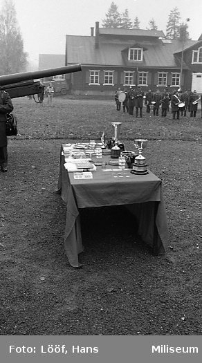 Militärmästerskap Motor. Prisbordet.