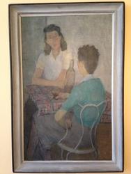 Konversation [Målning]