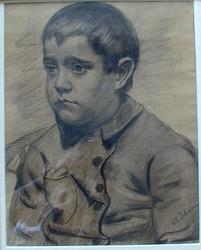 Broderen Karl [Tegning]