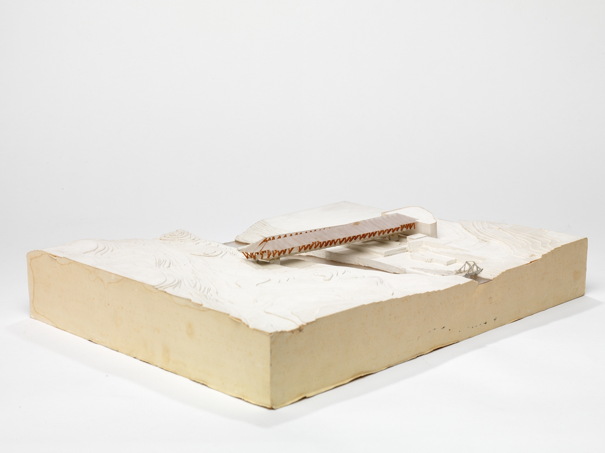 Utkast til Bergverksmuseum i Røros [Arkitektonisk modell]