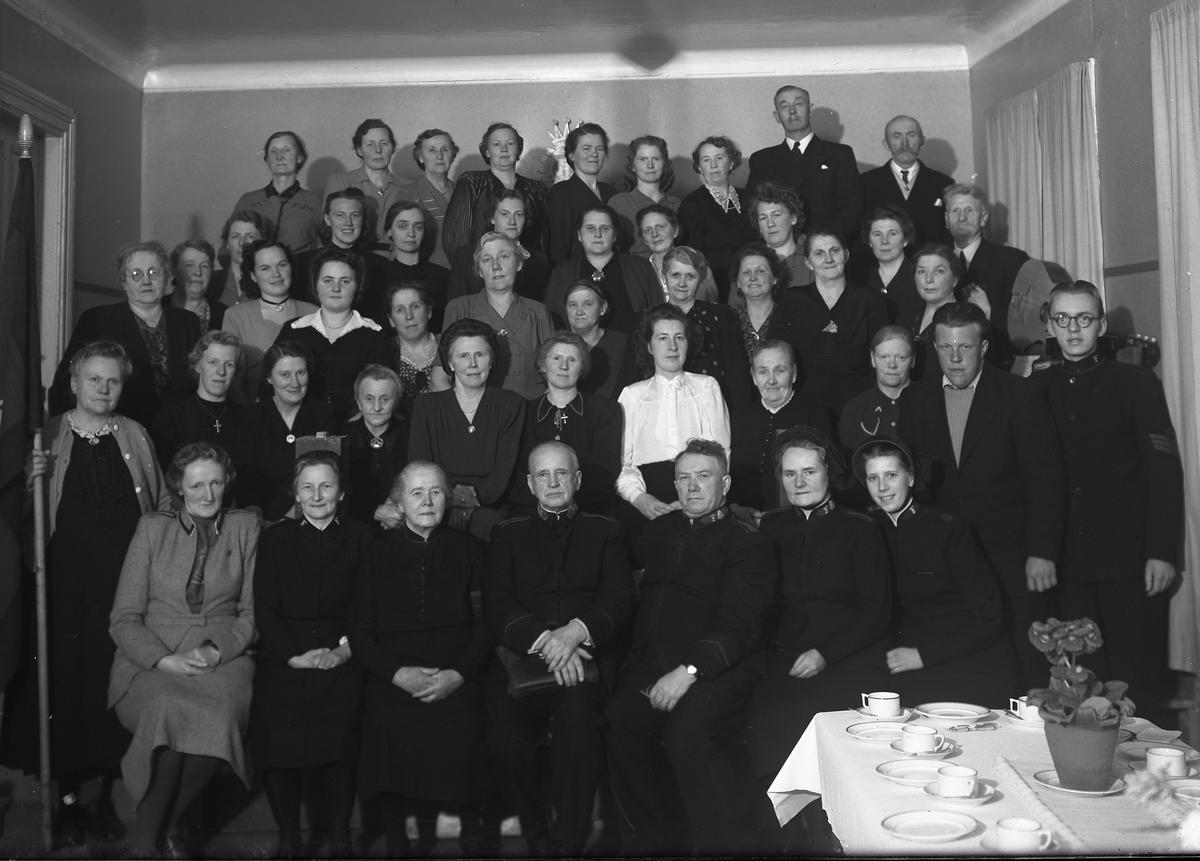 Frelsesarmeens 60-års jubileum i Grimstad