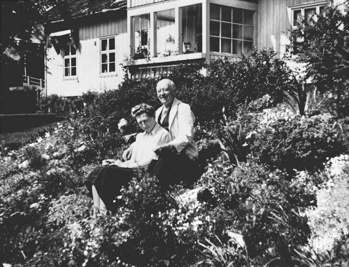 Haven etter at fru Johannson hadde drevet den en stund.