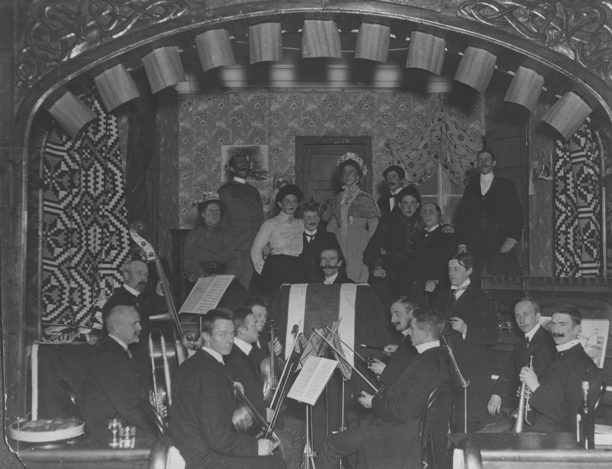 Concordia-orkester og amatørteater