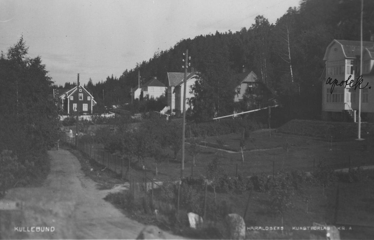 """Jernbanebyen"" nåværende navn Holteveien."