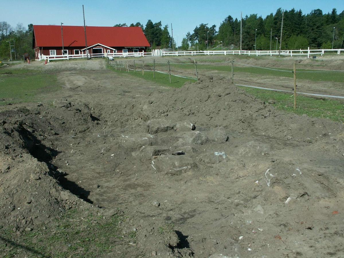 Undersökningsyta, Skörby, Kalmar socken, Uppland 2003