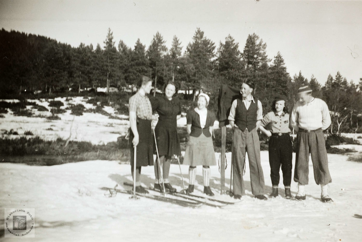 Skitur i Grindheim.