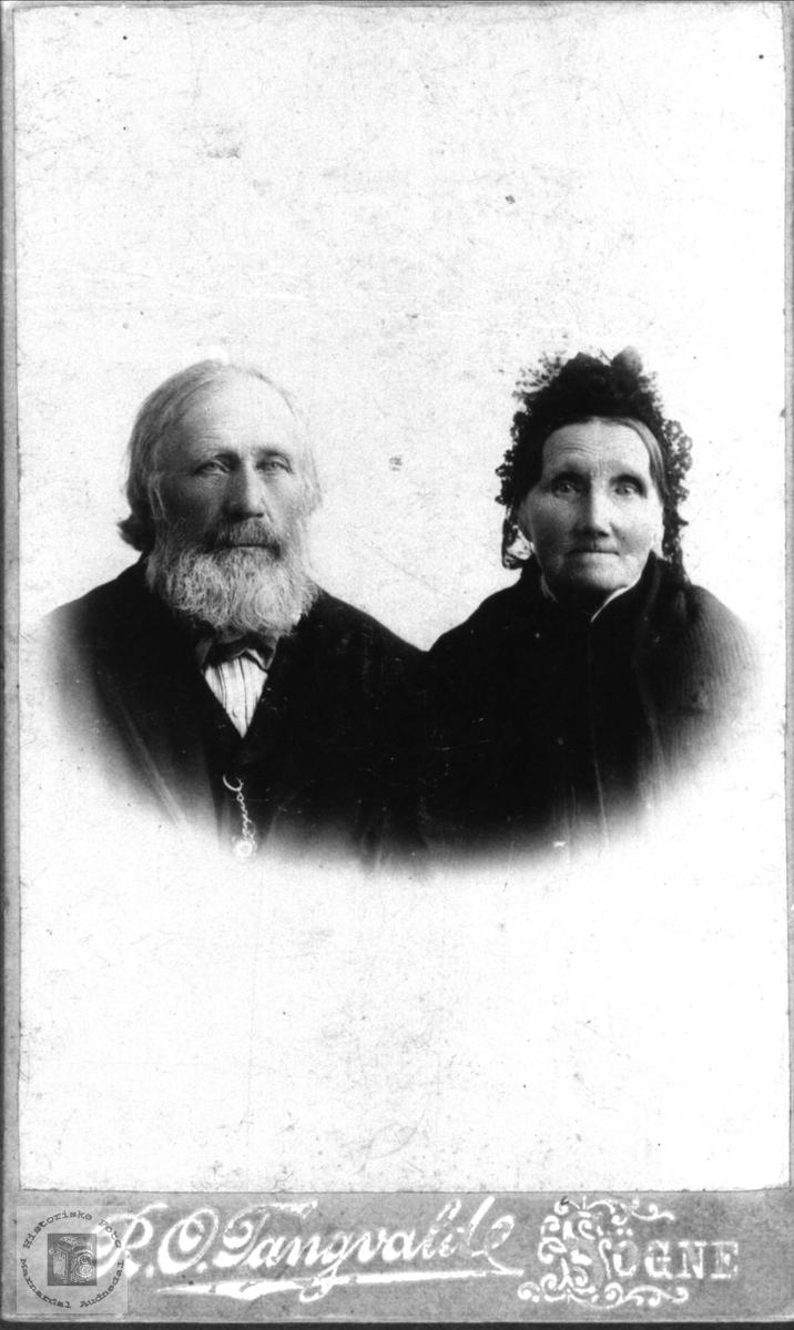 Ekteparet Stian og Torbjørg Skaar, Øyslebø.
