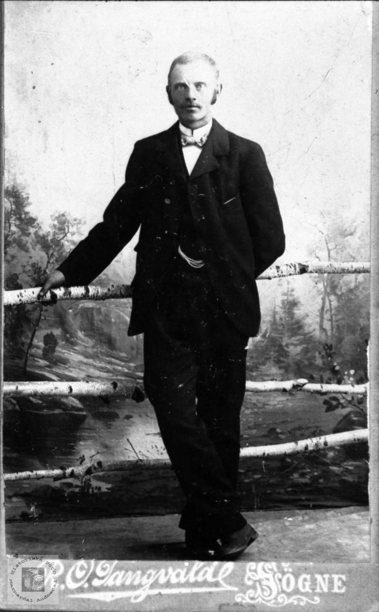 Portrett av Karl Søverin Solås, Øyslebø.