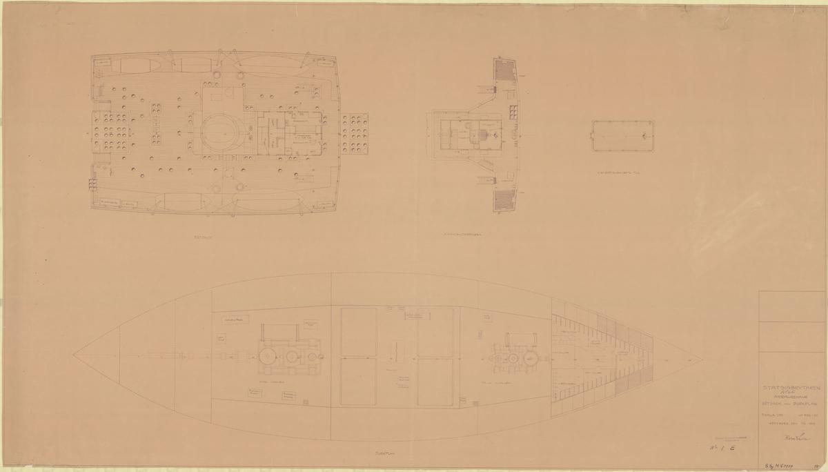 Båtdäck och durkplan