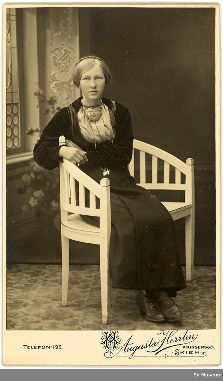 Bergit Hafskolt syster til drosjesjåfør
