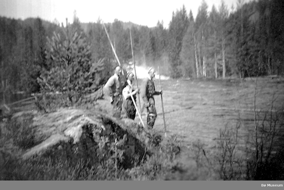 Vakt på Bakkjertangen 1951