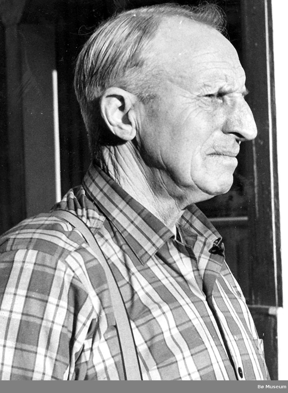 Portrett av Samuel Aakvik