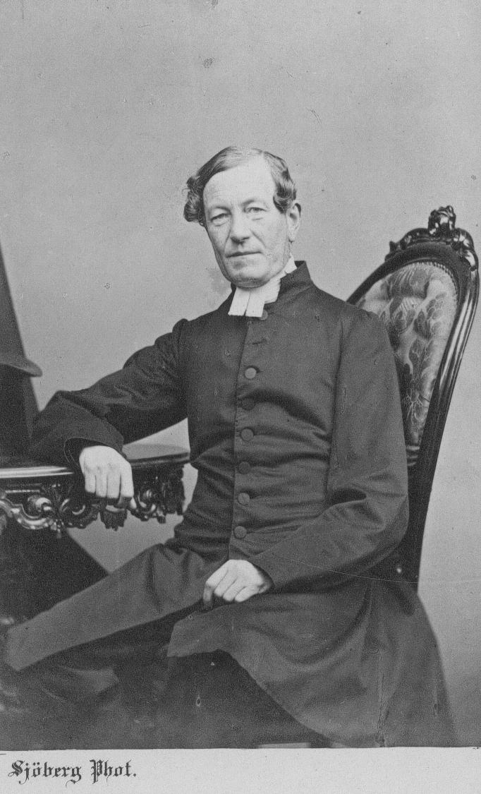 Kyrkoherde Carl Johan Forslund.