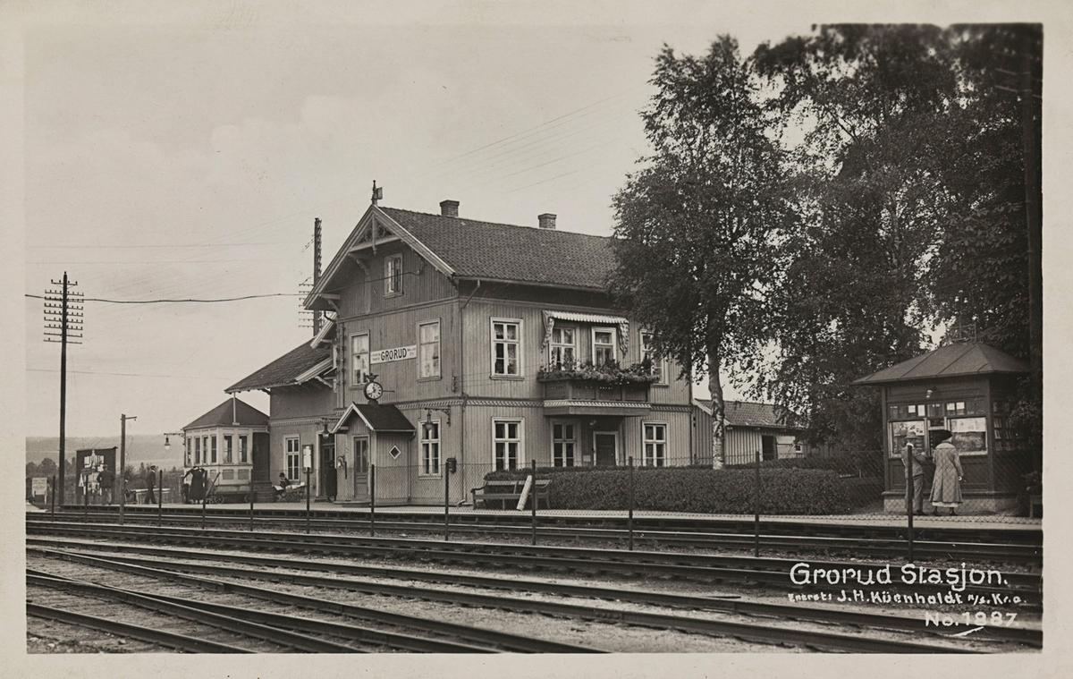 Grorud stasjon