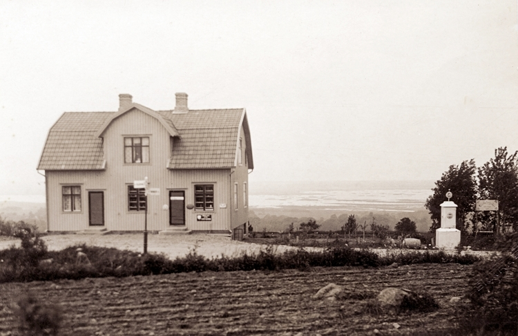 Bjällums affär år 1929.Även kallad Lyckan.