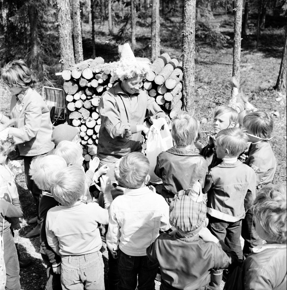 Arbrå, Mulleskolan avslutas, Juni 1971