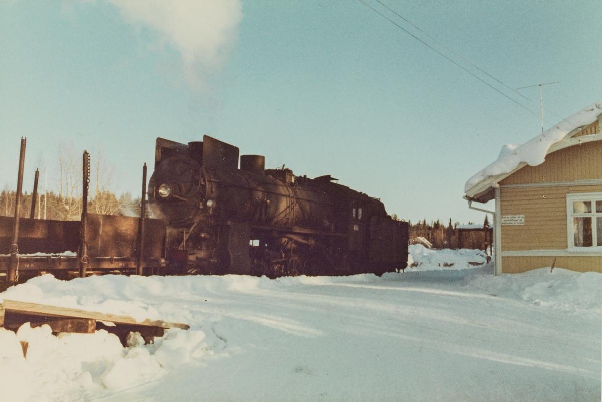 Godstog til Skreia på Bøverbru stasjon.