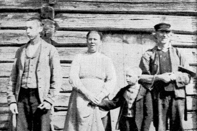 Fr v: Olof Henriksson, Marit Henriksdotter, Henrik Henriksson, Henrik Nilsson.