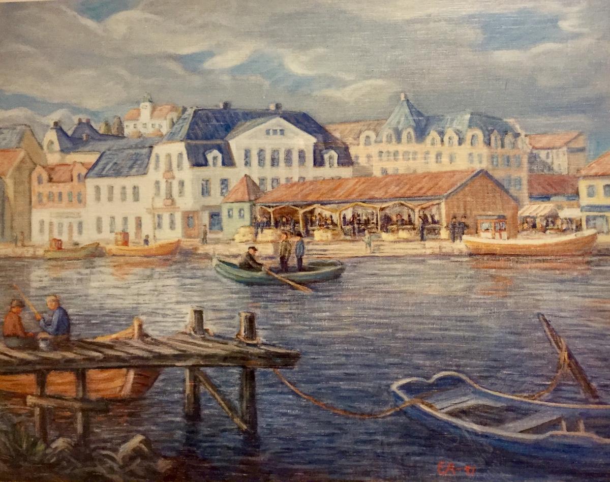 Fiskebrygga Fredrikstad.