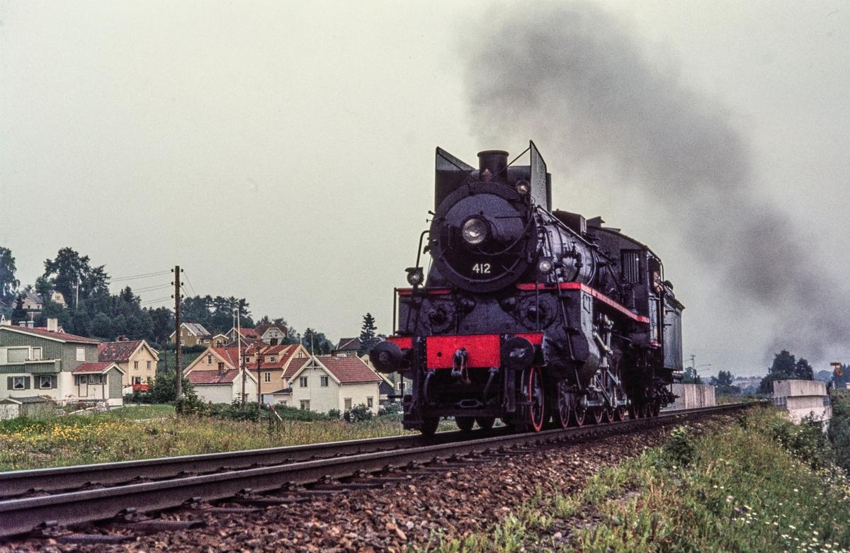 Damplokomotiv type 26c nr. 412.