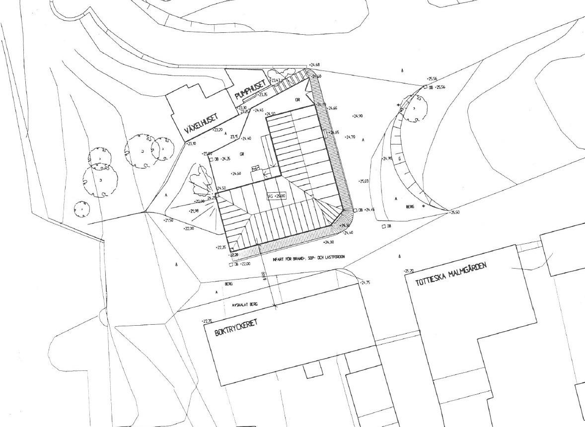 Järnhandlargården byggdes på Skansen under åren 2004-2005. Gården har byggts upp för att gestalta livet i industrialismens stad under perioden 1880-1940. Järnhandlargården består av järnhandlarhuset (en modern byggnadskonstruktion med historisk förlaga för fasaden), en telefonkiosk från 1930-talet samt en bensinpump som kom ut på marknaden 1927. Järnhandlargården rymmer järnhandel, järnhandlarbostad, konsumbutik samt bensinpump och telefonkiosk.